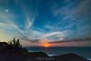 Easter Sunday moonrise 2016 (nightscapades) Tags: beach stars coast bush sydney australia astrophotography astronomy nightscapes garie royalnationalpark gariebeach