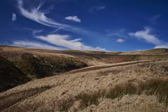 Deep blue (Hey hey JBA) Tags: uk blue cloud 35mm dam bluesky reservoir hills d750 moors ai westyorkshire pennines polariser southpennines captureone marchhaigh