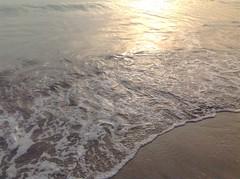 La espuma que embellece al puerto (shaisantamar) Tags: ocean sun beach beautiful puerto mar playa amanecer suny veracruz olas ola oceano wonderwall bello