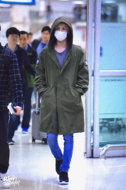 160427 Taemin @ Aeropuerto Gimpo {Llegada a Corea} 26125794074_7783b09955_z