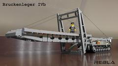 Brückenleger IVb (Rebla) Tags: world 2 war tank lego wwii ii ww2 layer brigde ivb brückenleger rebla