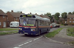 WMT 1469, Westacre Road, Wolverhampton (Lady Wulfrun) Tags: bus may route national service 1994 3rd leyland wolverhampton 682 1469 wmt finchfield westacreroad