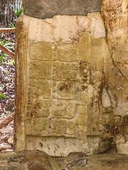 "Tikal: écriture maya une stèle du Temple des Inscriptions <a style=""margin-left:10px; font-size:0.8em;"" href=""http://www.flickr.com/photos/127723101@N04/26240508955/"" target=""_blank"">@flickr</a>"