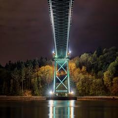 Lions Gate Bridge (timmyp604) Tags: longexposure bridge vancouver sony citylights pnw beautifulbc sonya7