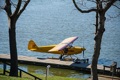Getting ready for takeoff (Justin P. Ross) Tags: lake water plane outside outdoors nikon kentucky cadiz landed barkley d7100