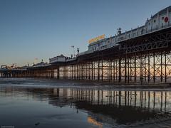 Tide's out (susie2778) Tags: sea sunshine pier brighton olympus lowtide palacepier 17mmf18 omdem5mii