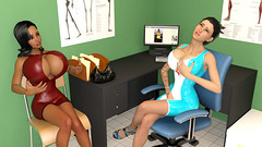 Plastic addiction makes a new victim... (Leticia Latex) Tags: sexy fetish asian 3d big breasts shiny tits boobs render fake babe rubber surgery plastic medical actress be huge latex bimbo nurse pornstar saline busty expansion silicone implants 3dx surgeon boobjob breastexpansion