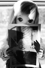 With picture (Vuffy VonHoof) Tags: pictures b bw baby white black color colour eye art girl vintage photo blw big eyes 60s doll dolls child sad photos w lisa retro teen keane 70s lonely 16 eyed said lovely teenanger photobrapghy