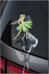 Oops I Pooped! (Joseph Austin) Tags: auto smile smiling angel hawaii hilarious sticker automobile funny dancer fairy poo unfortunate huladancer hilarity birdpoop pooped poopedmypants keepsmiling oopsipooped crapped crappedmypants