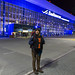 Nossa chegada no aeroporto de Vladivostok