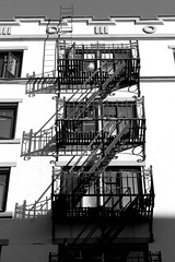 sunny day stair shadows (danna  curious tangles) Tags: stairs shadows fireescape