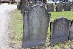Tombstone (Cherub's Head) - The Granary (rfzappala) Tags: usa cemetery boston head united tombstone cherub states cherubs granary massachussets 2016