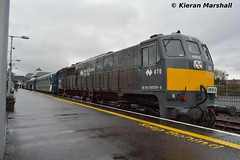 076 at Killarney, 10/4/16 (hurricanemk1c) Tags: irish train gm rail railway trains killarney railways irishrail generalmotors 2016 emd 071 076 iarnród éireann rpsi irrs iarnródéireann railwaypreservationsocietyofireland twodaytour irishrailwayrecordsociety 40yearrailtour 70yeartour 1010traleewaterford