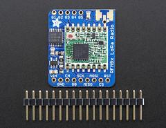 Adafruit RFM96W LoRa Radio Transceiver Breakout - 433 MHz (adafruit) Tags: wifi wireless mhz rf antennas radios frequency adafruit transceivers breakoutboards pid3073 loraradios