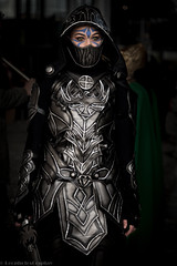Festival_Paris_Comic_Con_2015_Rossignol_5280 (LeophotosCosplay) Tags: game dragon cosplay tes bethesda comiccon jeu mmo rossignol armure cuir jeuvido theelderscrolls skyrim pariscomiccon bordeciel setguerrire