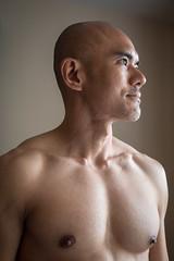 IMG_1416 (Zefrog) Tags: uk portrait man london pecs asian topless johann zefrog