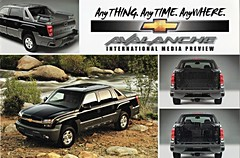 2002 Chevrolet Avalanche (aldenjewell) Tags: 2002 chevrolet truck postcard avalanche
