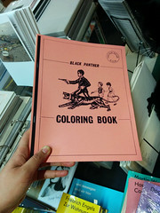 Black Panther Coloring Book (Peeping Thom) Tags: berlin kreuzberg buch book coloring blackpanther