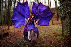 Knigin der Nacht (Batram) Tags: beauty lady costume model nacht betty queen beast shooting curl nox knigin kostm batram jumeria