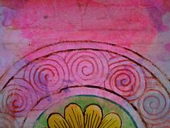 DSC09482 (scott_waterman) Tags: detail ink watercolor painting paper lotus gouache lotusflower scottwaterman