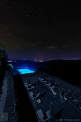 """Too Cool for a Dip (24""""x36"""") (JMichaelSullivan) Tags: italy pool night stars 100v nikon tuscany nocturne d800 dievole 1424mm"""