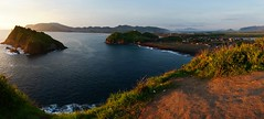 Perfect afternoon : sea scape, fresh air and clear sunset. (apmahardika) Tags: sunset seascape indonesia landscape sony jember nex6