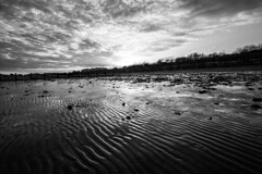 Desolated (haqiqimeraat) Tags: sky beach monochrome clouds landscape mono blackwhite nikon tokina ultrawide d7100