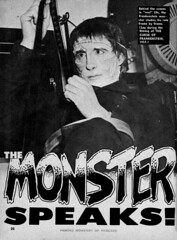 Christopher Lee answers questions 01 (Tom Simpson) Tags: film vintage movie horror qa christopherlee famousmonsters
