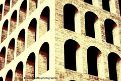 VAE VICTIS (Ecinquantotto (+ 880.000 : Grazie..Thanks !)) Tags: street italy abstract rome roma art geometric colors architecture reflex nikon italia arte ombre cube eur colori architettura archi geometrie marmo dinamic d3000 palazzodellacivilt nikond3000