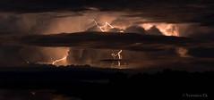 storm (ekveronica) Tags: travel light cloud storm nature night long exposure australia explore outback lightning forces