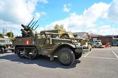 Anti Aircraft Truck at Toddington 23rd April 2016 (davids pix) Tags: war gun weekend military railway gloucestershire vehicles warwickshire antiaircraft 2016 23042016