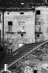 Old house (AlyonaOrlova) Tags: blackandwhite house window architecture outside nikon exterior czech prague outdoor d5300