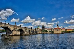 May in Prague - Charles Bridge (kadofr) Tags: bridge czech prague charles vltava moldau