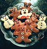 The day the teddy bears came out to play.... (Mcicki) Tags: cookies bears snowmen teddybears christmascookies gingerbreadmen holidaycookies