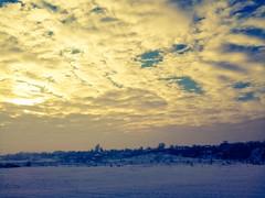 Dimineaa pe rcoare (Dumby) Tags: morning winter landscape romania nori iarna peisaj ilfov