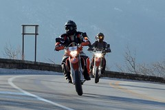 KTM Motorcycles 1601310447w (gparet) Tags: road bridge curves scenic motorcycles bearmountain motorcycle overlook windingroad twisties goatpath goattrail