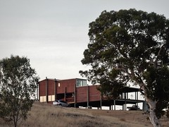 Wooden Mansion on Hilltop (mikecogh) Tags: house wooden mansion gumtree slope stilts hilltop adelaidehills dawesley