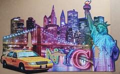 Skyline, New York (sci-fi-fan) Tags: newyork silhouette puzzle stdte ravensburger