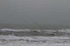 Grundstøt og kæntret ud for Nymindegab (Sea worker) (Flemming Pedersen) Tags: naturaleza nature canon denmark natur sigma natura danmark nordsee northsee nordsøen canon7d sigma70200mmf28os