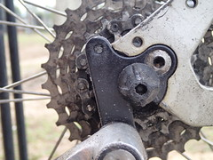 giant stupidity (Charles Ramsey) Tags: giant sedona hanger derailleur zerodish