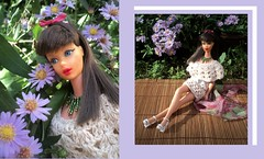 F-l-o-w-e-r-s (doll4life14) Tags: bon fashion turn vintage model mod doll handmade chocolate crochet n twist retro 1967 mattel