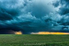 Texas County Storm (Black Mesa Images) Tags: lighting storm black oklahoma texas images stanley chase hooker harper thunder mesa panhandle guymon supercell