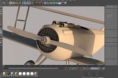 SPADXIII-WIP 18 (StratoArt) Tags: history 3d aircraft aviation military wwi cinema4d warbird biplane warplane spad xiii