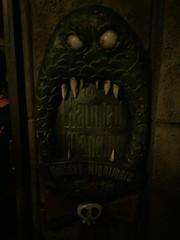 Tokyo Disneyland (jericl cat) Tags: park sign japan night japanese tokyo disneyland entrance disney haunted theme mansion nightmarebeforechristmas fantasyland 2015