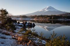 A Winter Morning (Yuga Kurita) Tags: travel winter snow nature japan fuji mt mount fujisan snowscape fujiyama