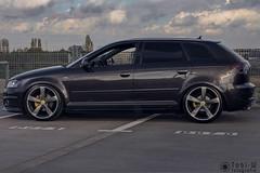 IMG_4787-HDR (Tobi W I Fotografie) Tags: auto car audi parkdeck tief lowisalifestyle