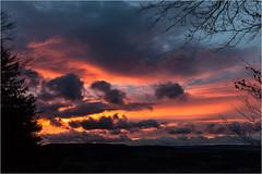Winter Sunset (:: edgar 37 :: 1.8 Million + views :: THANKS !!) Tags: trees sunset sun clouds germany landscape deutschland evening thringen sonnenuntergang cloudy wolken thuringia german landschaft sonnenstrahlen eic abends landkreis bewlkt eichsfeld heilbadheiligenstadt canoneos5dmarkii ef2470f28liiusm maienwand