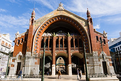 Mercado de Coln (Juan Miguel) Tags: espaa valencia architecture spain arquitectura europa europe spanien spagne comunidadvalenciana mercadodecoln lx5 juanmiguel panasoniclx5