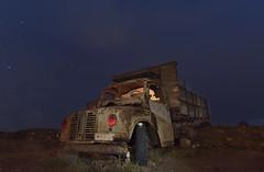 1240DSC (Lucillo.vm1) Tags: light sky painting noche cielo exposicion larga abandono vehiculo