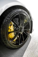 911 GT3 with Ceramic Composite Brakes (Nicholastran213) Tags: car porsche 911 gt3 911gt3 wheel brakes yellowbrakes carbonceramic cermaicbrakes sportcup2 michelin trackcar carsandcoffee white flare blackwheel vehicle carsandcoffeedallas pccb cc sportscar racecar porsche911gt3 porsche911